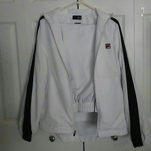 FILA men's 2 pc athletic suit size small.